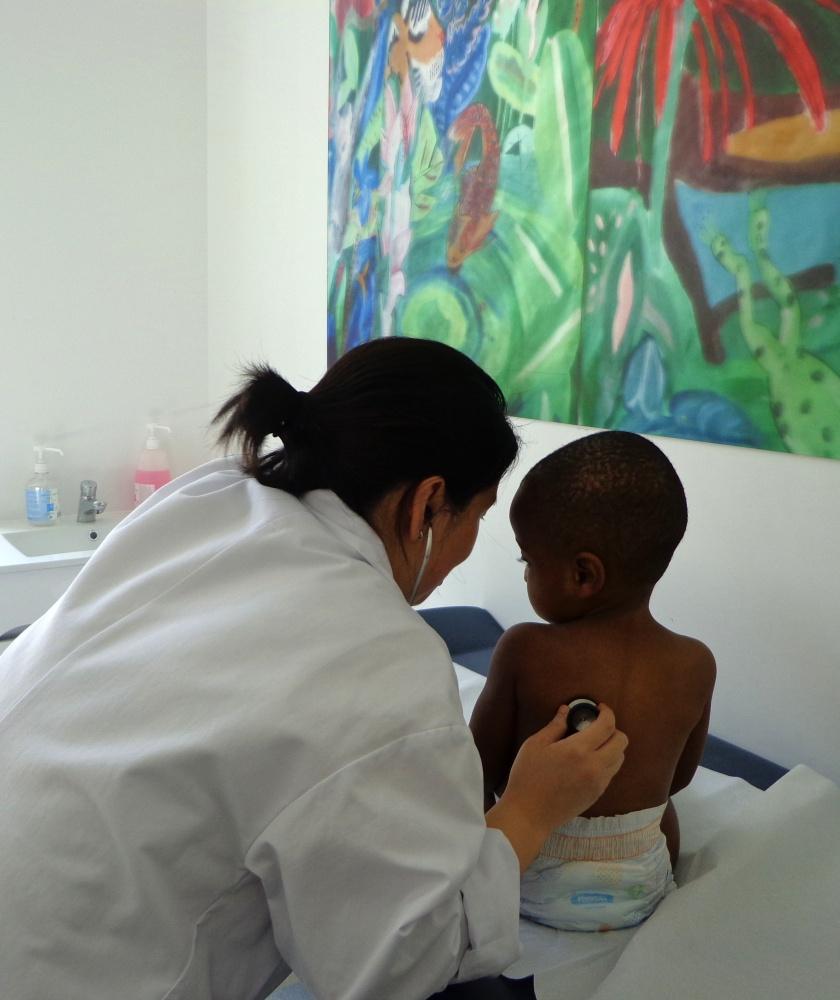 CSMD, pédiatre et enfant