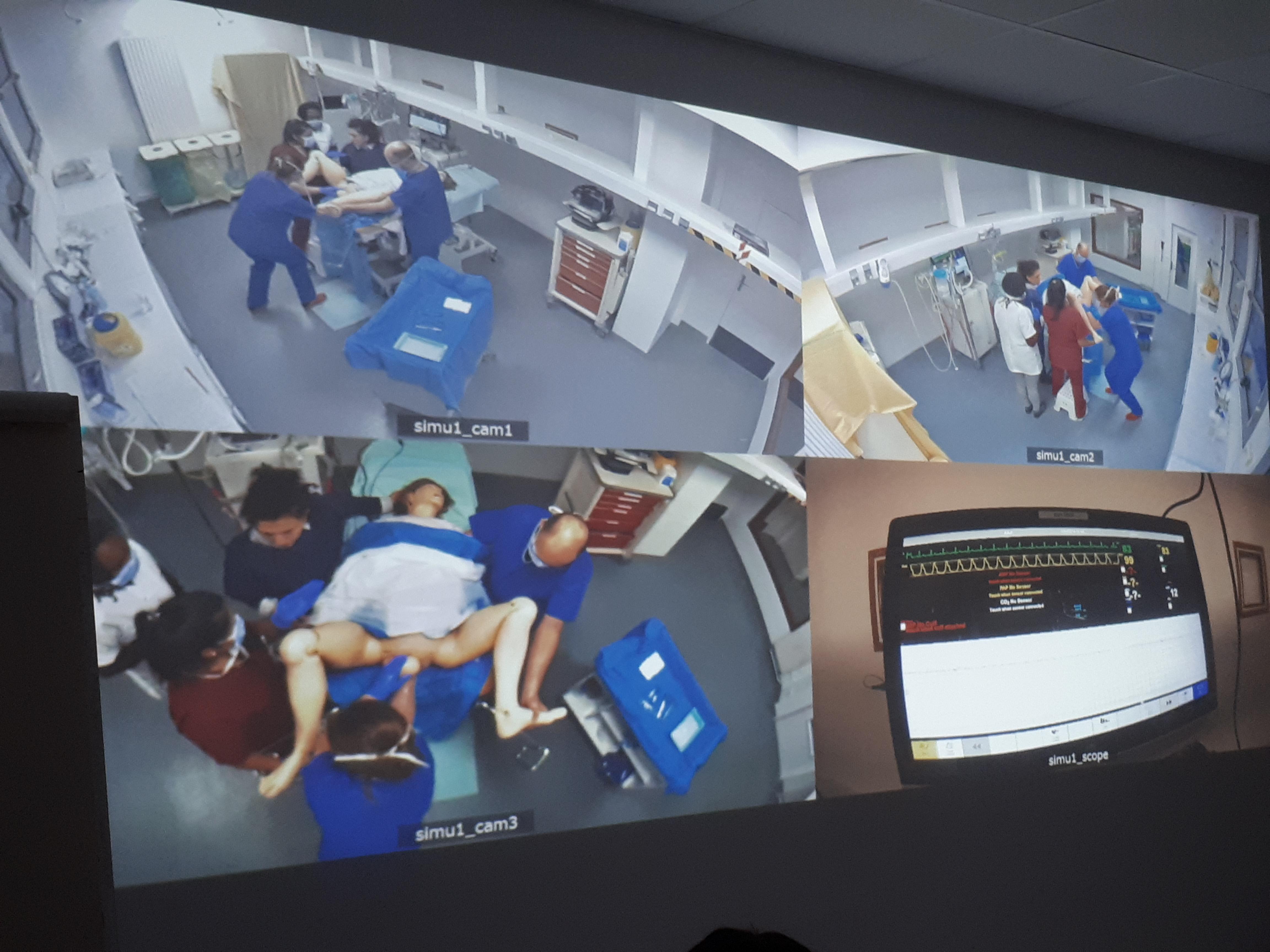 la simulation de santé à l'ifps de la fondation oeuvre de la croix saint simon