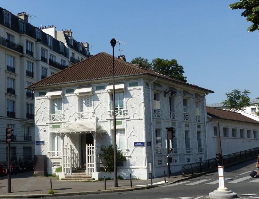 Crèche Père Lachaise façade (Fondation Oeuvre de la Croix Saint-Simon)