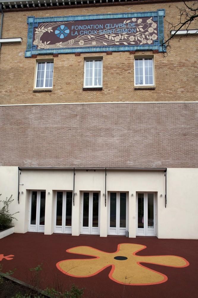 Crèche Les petits Gailhard, façade (Fondation Oeuvre de la Croix Saint-Simon)