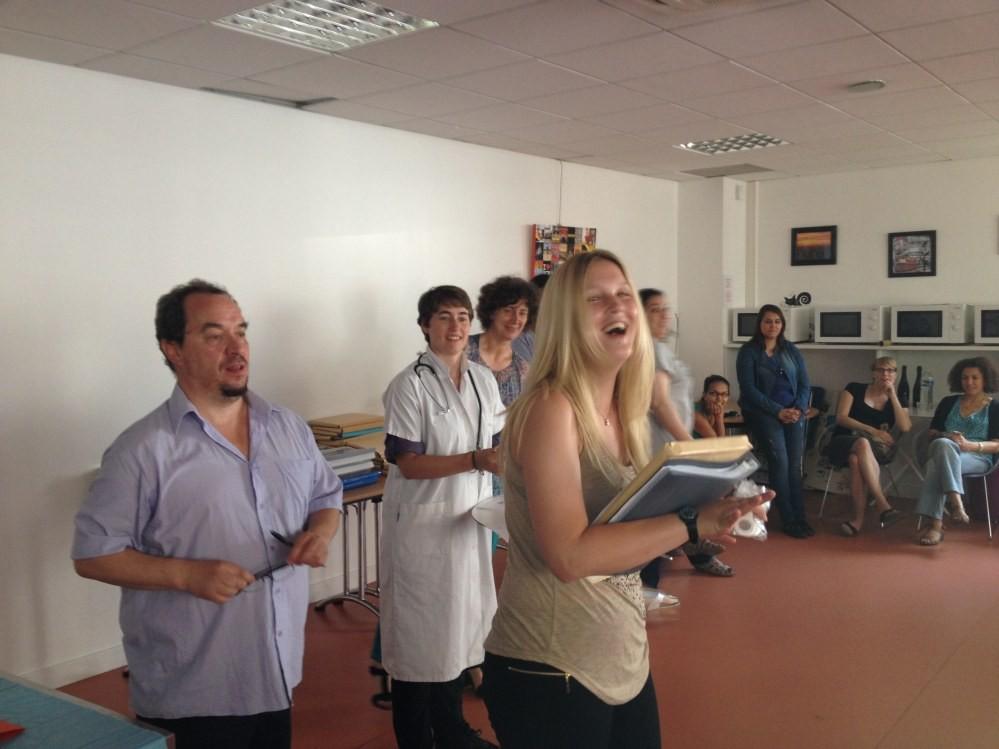 Remise des diplômes aux étudiants de la Fondation Oeuvre de la Croix Saint-Simon