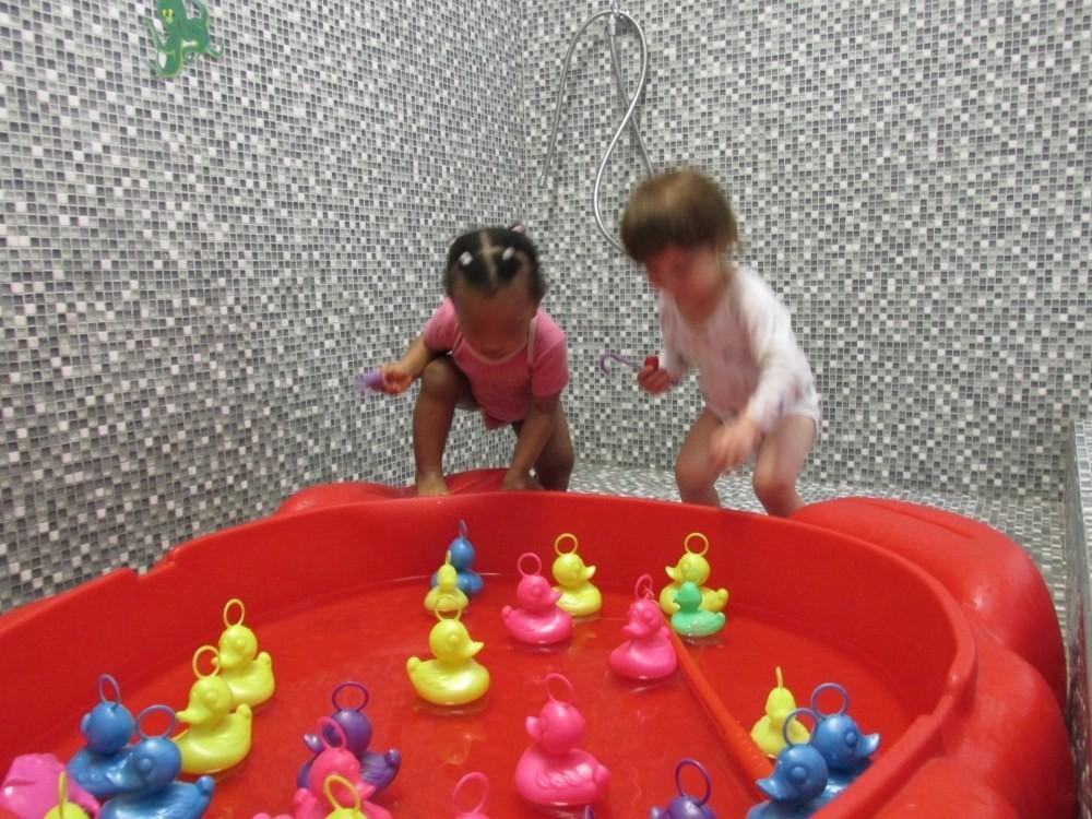 Multi-accueil Hippocampe, jeux d'eau de la Fondation Oeuvre de la Croix Saint-Simon