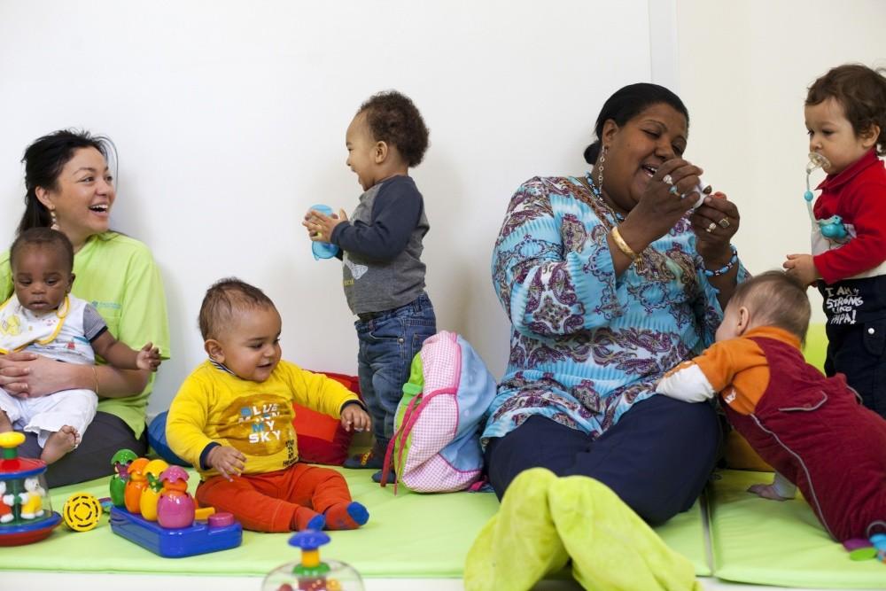 Multi-accueil Clavel, assistante maternelle