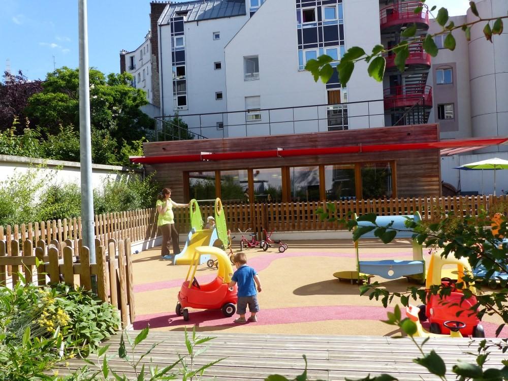 Multi-accueil Clavel,  jeux jardin