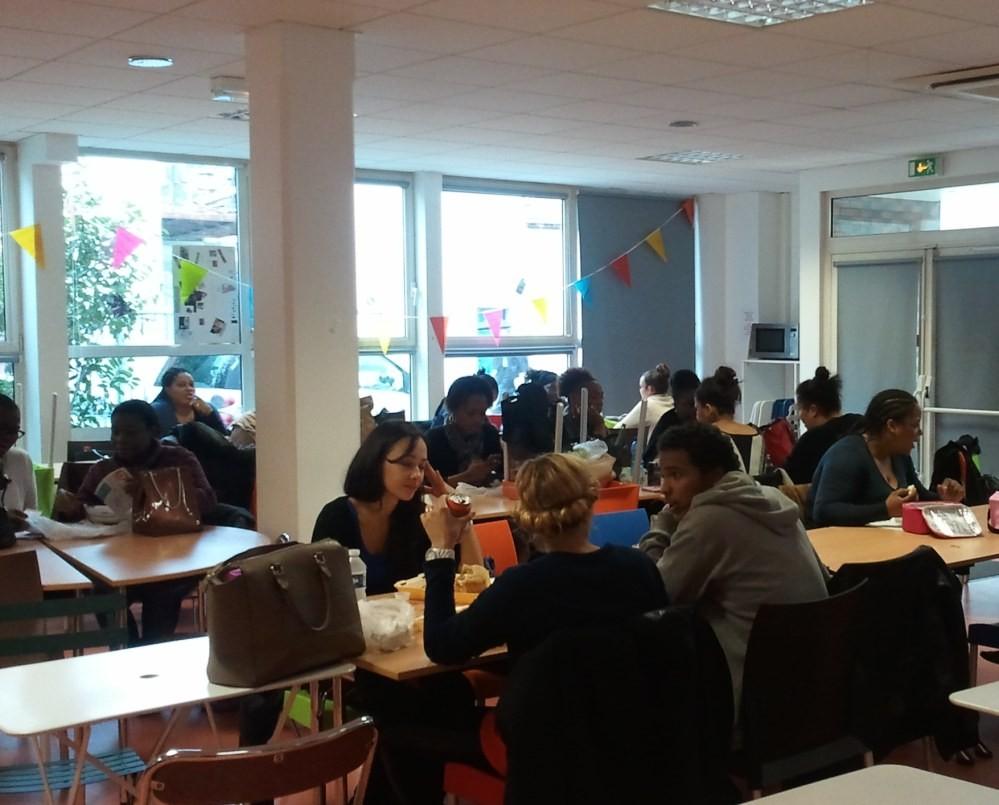Salle de repos des étudiants de l'IFSI de la Croix Saint-Simon