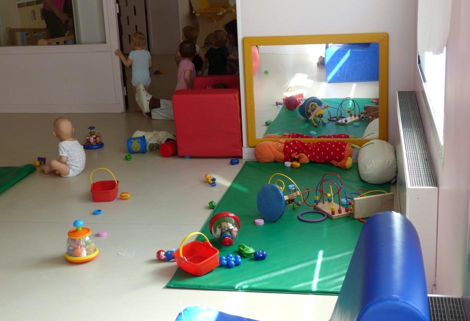 Crèche  Viala, salle bébés
