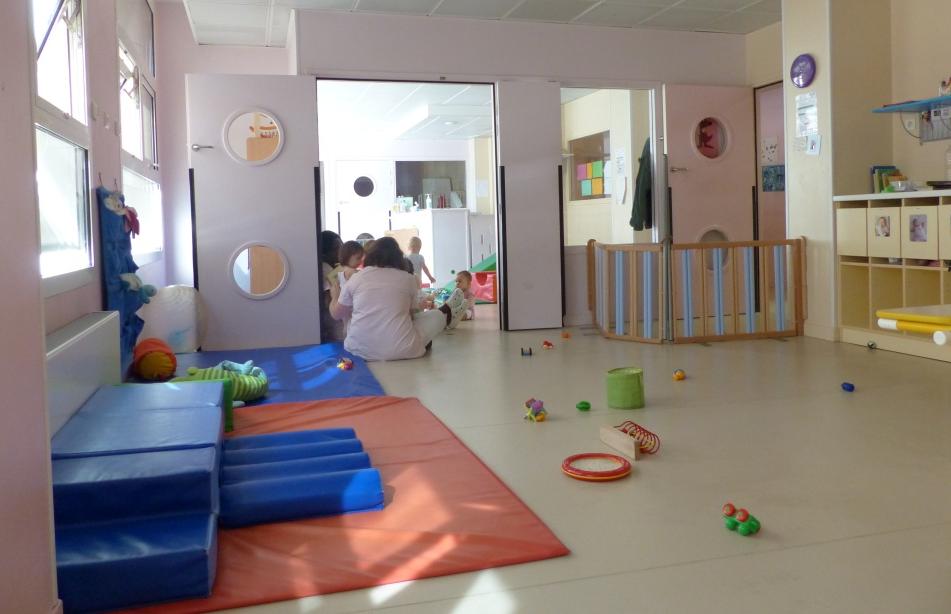 Crèche  Viala, grande salle bébé