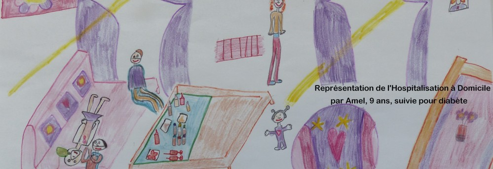 Hospitalisation A Domicile (HAD), petite fille, soins, Fondation Oeuvre de la Croix Saint-Simon