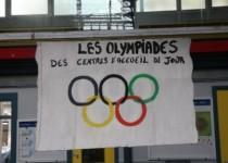 Participation des 3 centres d'accueil de jour parisiens de la Fondation Oeuvre de la Croix Saint-Simon aux 3èmes Olympiades