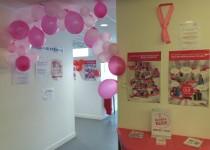 Campagne de lutte contre le cancer du sein Octobre rose 2015 au Centre de Santé Médical et Dentaire Clavel de la Fondation Oeuvre de la Croix Saint-Simon