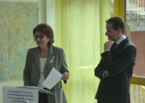 Inauguration de l'antenne Hospitalisation à Domicile (HAD de la Fondation Oeuvre de la Croix Saint-Simon) au CHIC (Centre Hospitalier Intercommunal de Créteil)