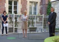 Inauguration de la crèche la providence de la Fondation Oeuvre de la Croix Saint-Simon