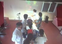 Atelier de simulation à l'IFPS de la Fondation Oeuvre de la Croix Saint-Simon
