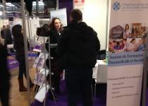 L'IFPS de la Fondation Oeuvre de la Croix Saint-Simon au salon Paris pour l'emploi des jeunes
