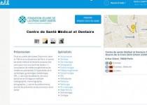 Prendre rendez-vous en ligne au Centre de Santé Médical et Dentaire de la Fondation Oeuvre de la Croix Saint-Simon