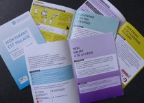 """Brochure """"Mon enfant est malade"""" pour permettre aux aux pents de savoir comment réagir quand un enfant est malade"""