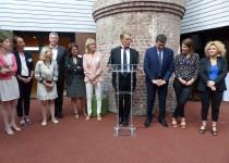 inauguration la villa vauvenargues fondation oeuvre de la croix saint-simon
