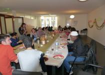 Brunch de Noël au Samsah 2014 de la Fondation Oeuvre de la Croix Saint-Simon